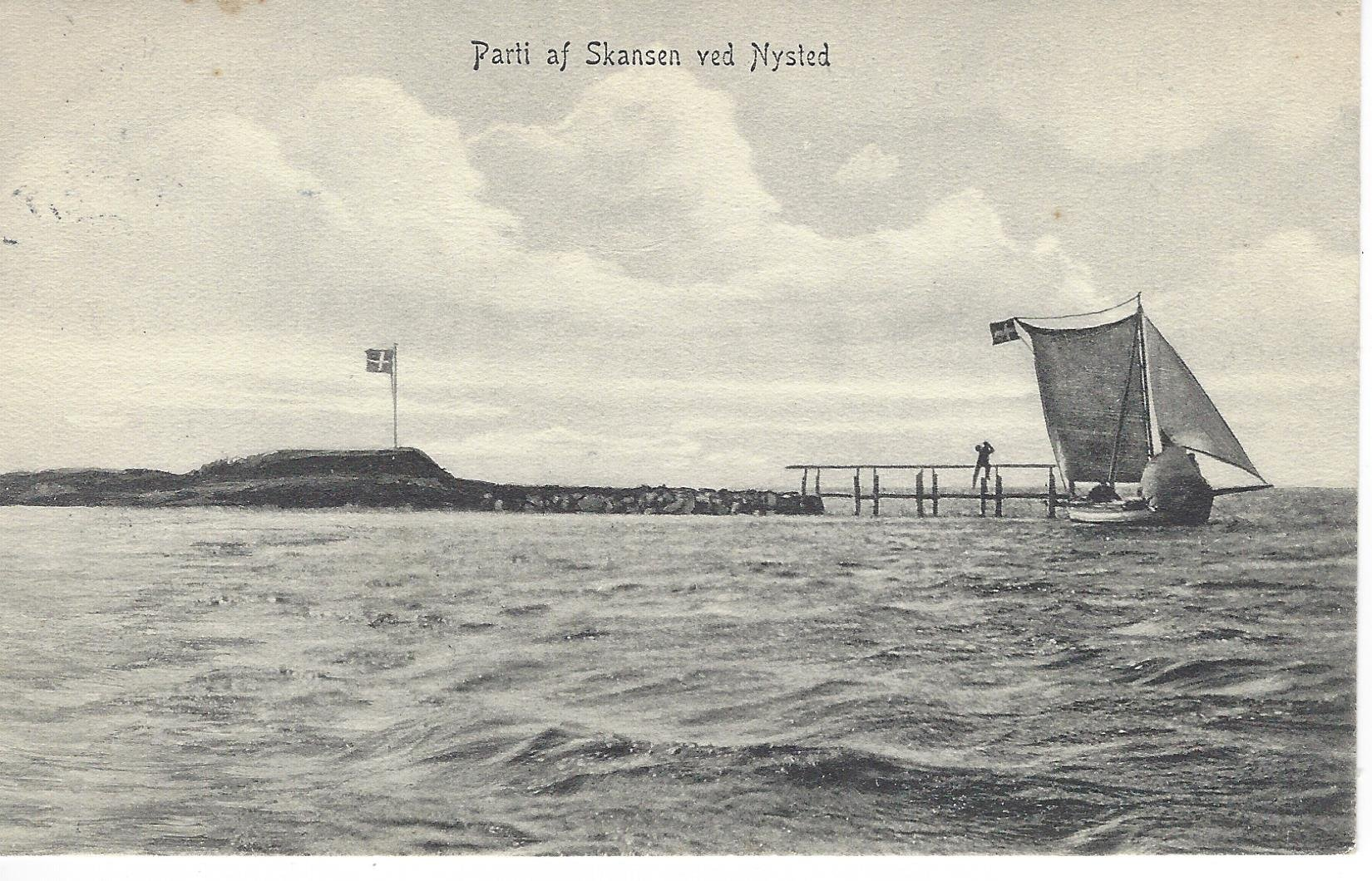 01-Skansen-ved-Nysted-1909