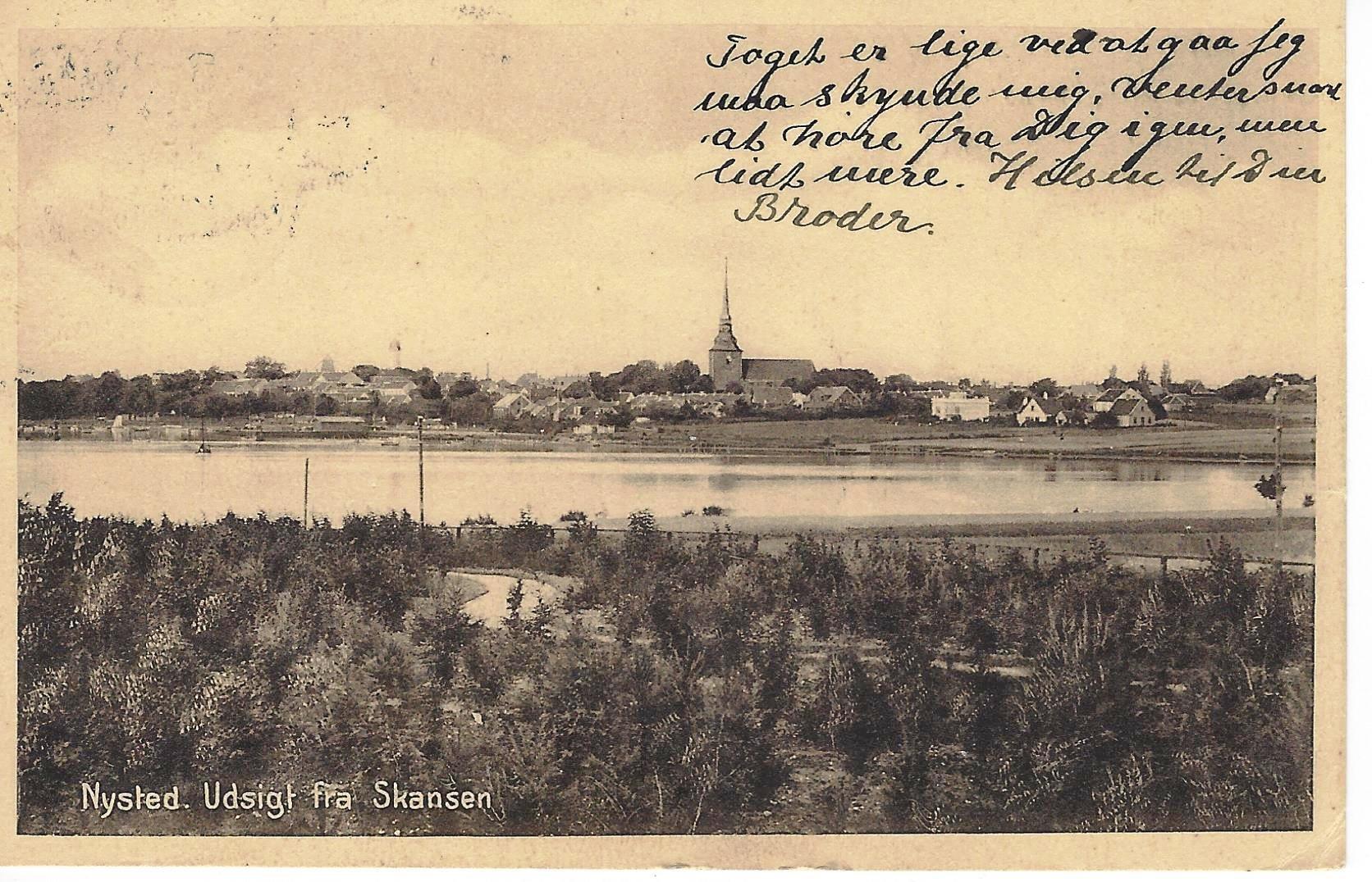 04-Nysted-Udsigt-fra-Skansen-1916